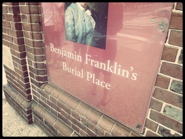 Benjamin Franklin's Burial Place