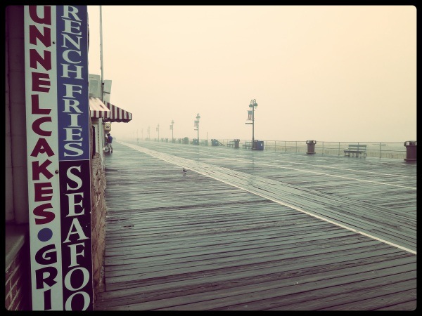 Ocean City, New Jersey. Boardwalk
