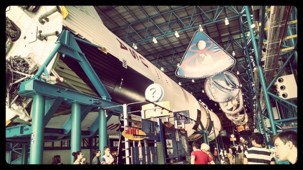 Inside the Kennedy Space Center