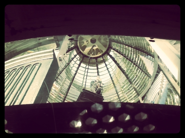 Inside the Top of the St. Augustine Lighthouse