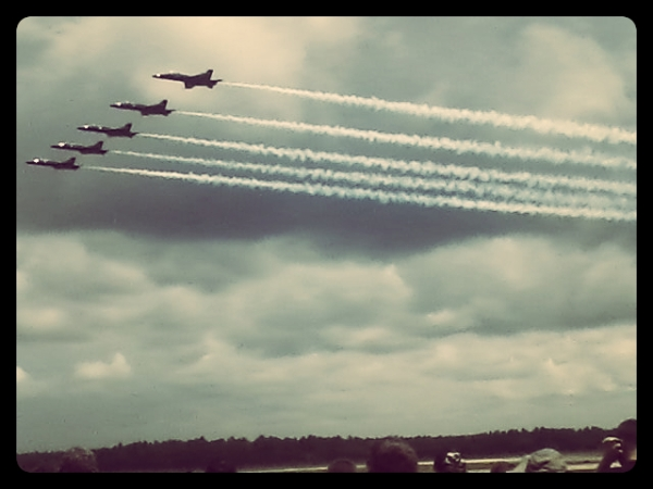 Watching the Blue Angels